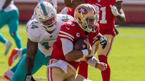 San Francisco 49ers bench struggling Jimmy Garoppolo for C.J. Beathard vs.  Miami Dolphins