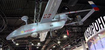 Russia's 'Forpost' drone based on technology licensed from Israel Aircraft Industries