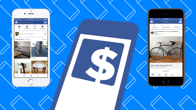 Facebook finally monetizes Marketplace with ads from users and brands    TechCrunch