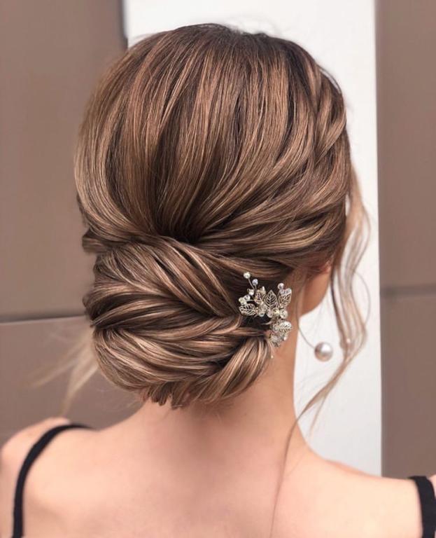 تسريحات شعر العروس 2020