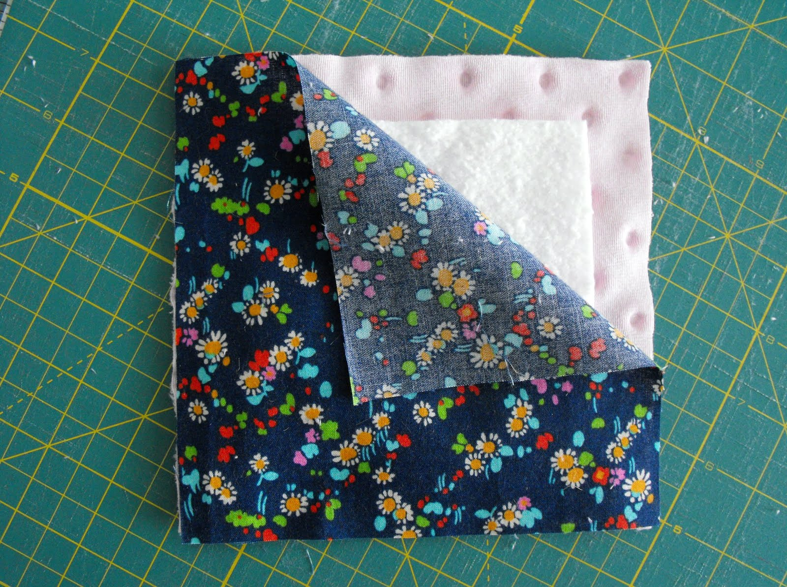 Making a rag quilt a tutorial on craftsy for How to make a quilt template