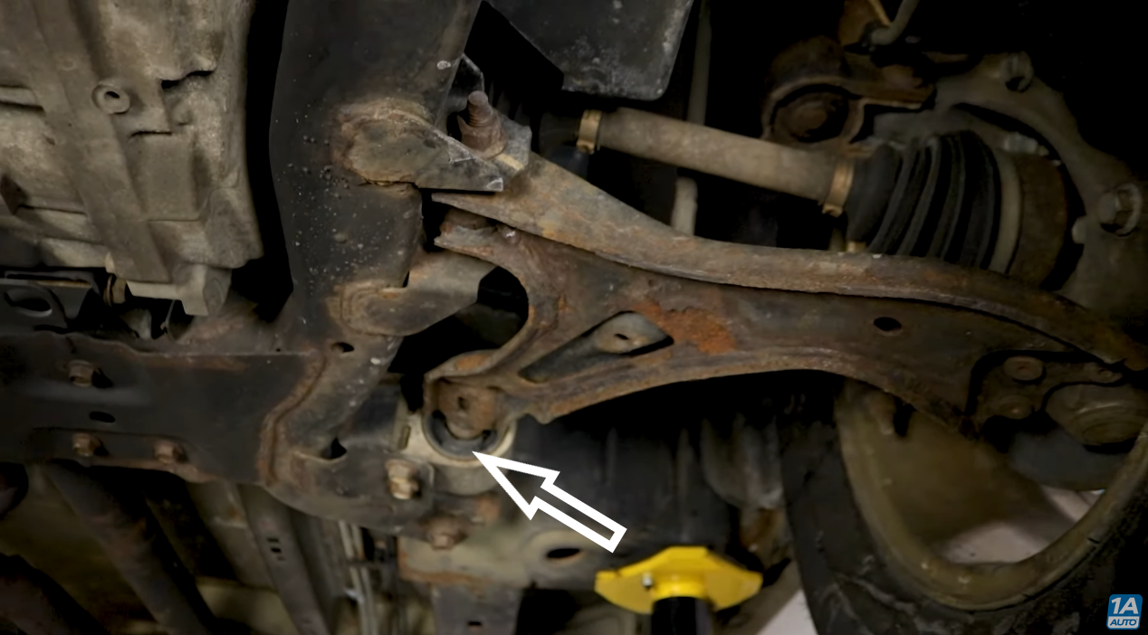 front control arm bushing is one of the common chevrolet equinox problems