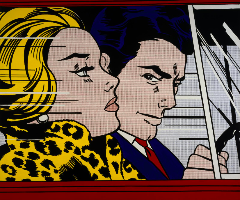 Roy Lichtenstein (1923-1997) - In the Car, 1963