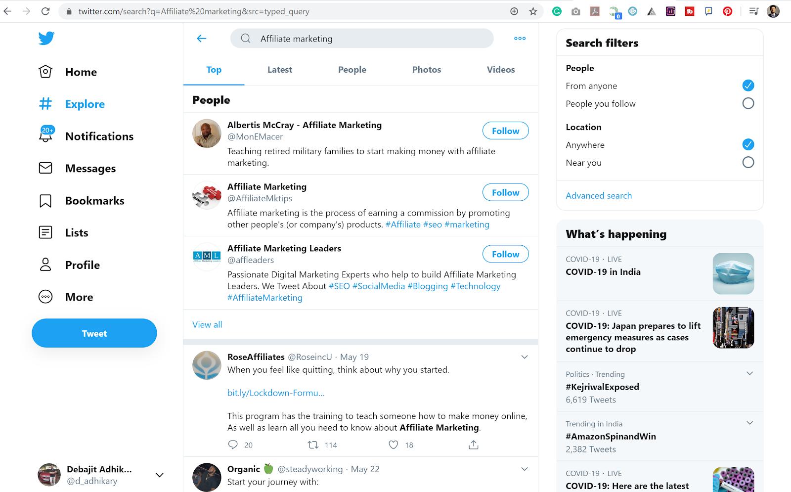 Blog Post Content Ideas - Twitter