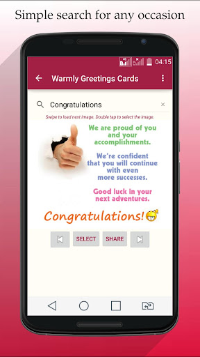 Greeting Cards All Occasions!!– Vignette de la capture d'écran