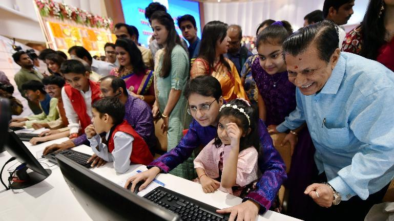 Muhurat trading in India