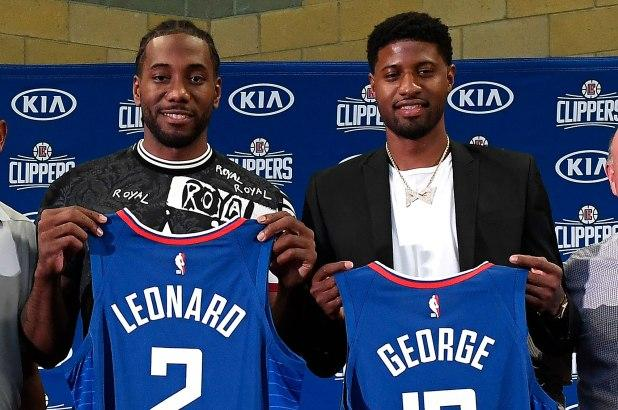 Image result for kawhi leonard and paul george