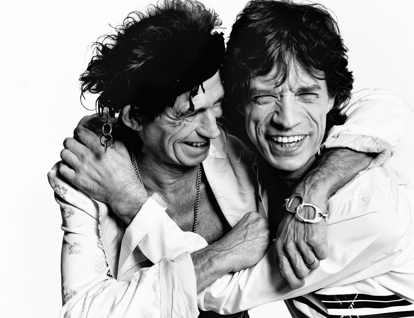 Mario Testino - Keith Richards and Mick Jagger, Los Angeles