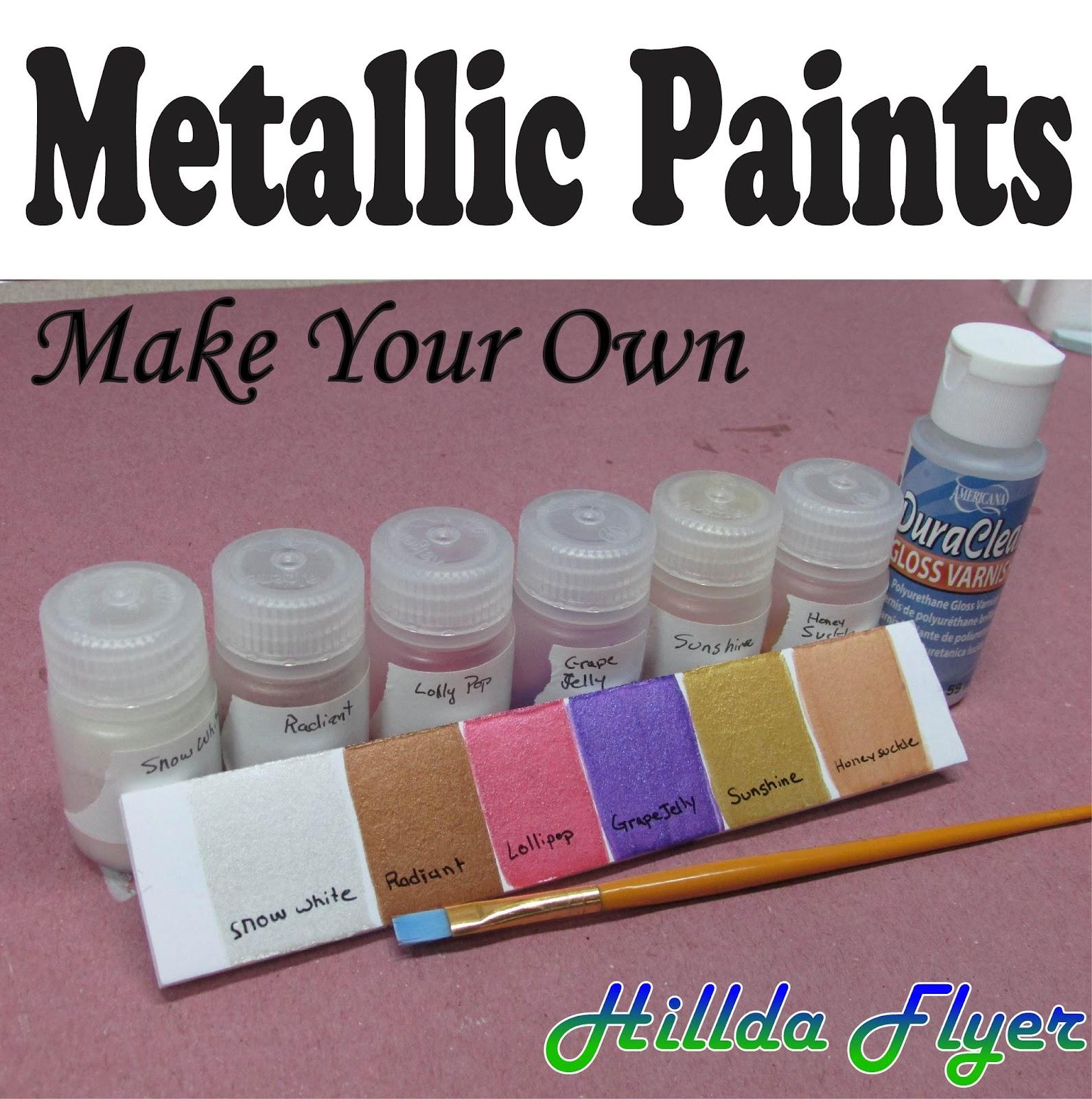 Metallic Paint - Make Your Own | Flite Test