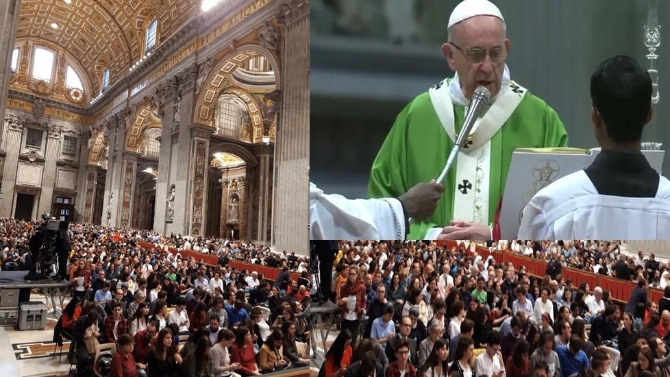 Bài giảng của Đức Thánh Cha trong Thánh Lễ bế mạc của Đại Hội đồng chung Thông thường của Thượng Hội đồng Giám mục về Giới trẻ, Đức tin, và Sự Phân định ơn gọi