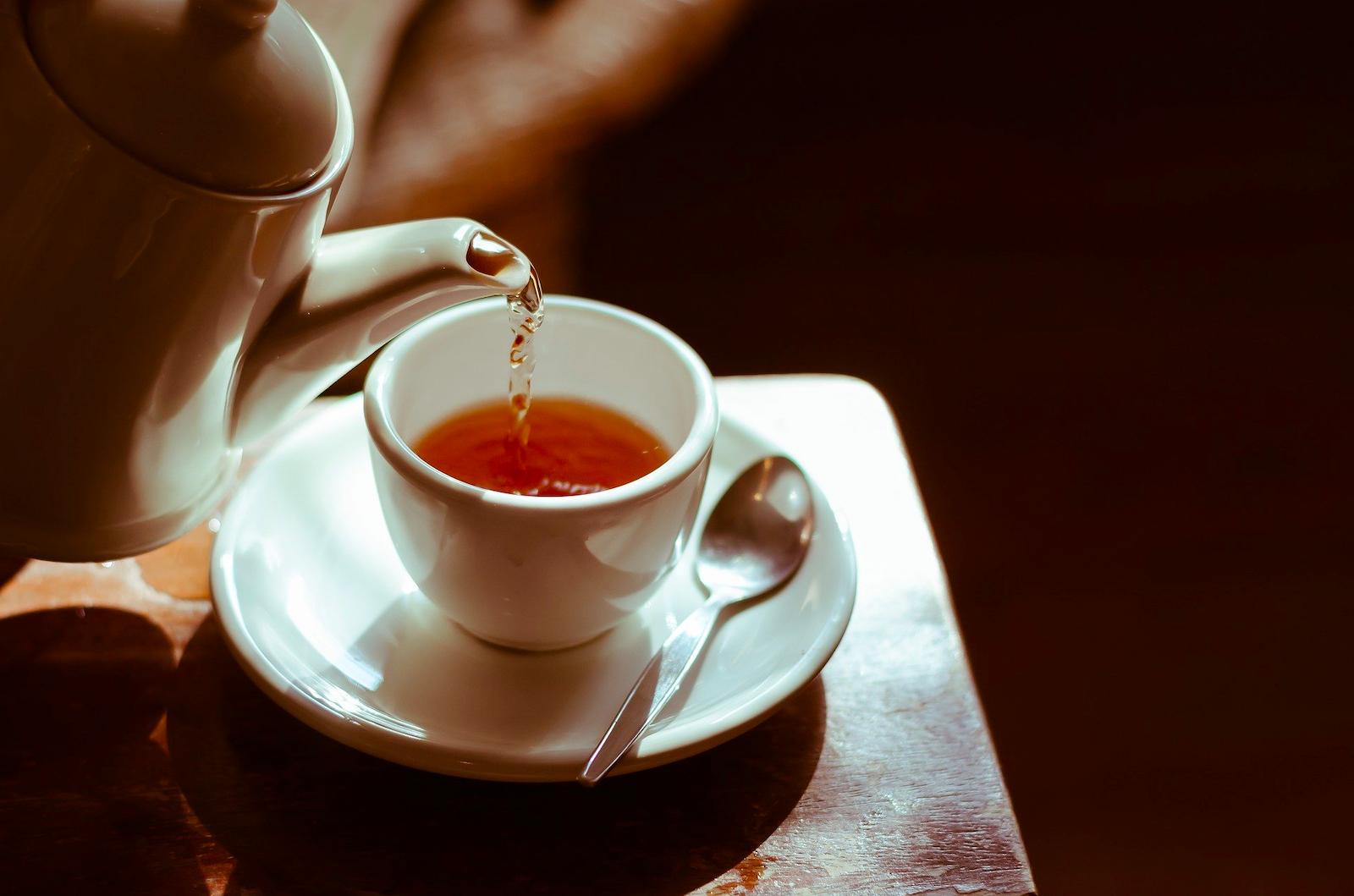 teina w herbacie