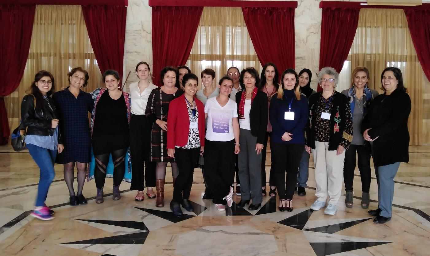 C:\marge\International Abortion Campaign 2015-2016-2017-2018\MENA Regional Network 2019\RAWSA MENA first meeting participants.jpg