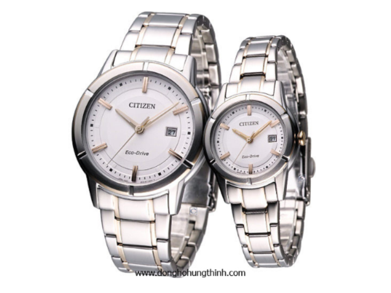 Cặp đồng hồ đôi Citizen chính hãng này không chỉ đẹp mà còn chất!