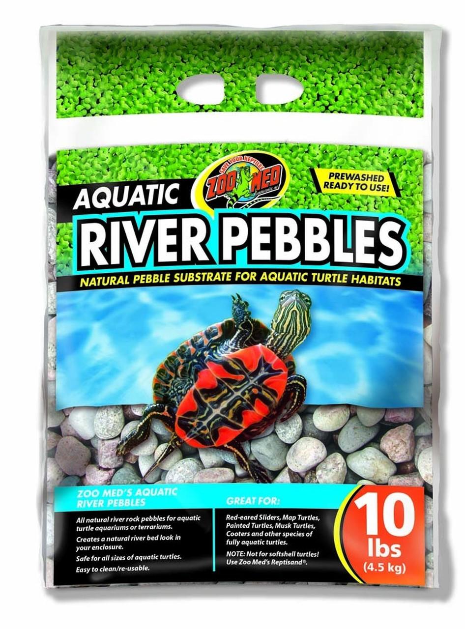 Bag of river pebbles