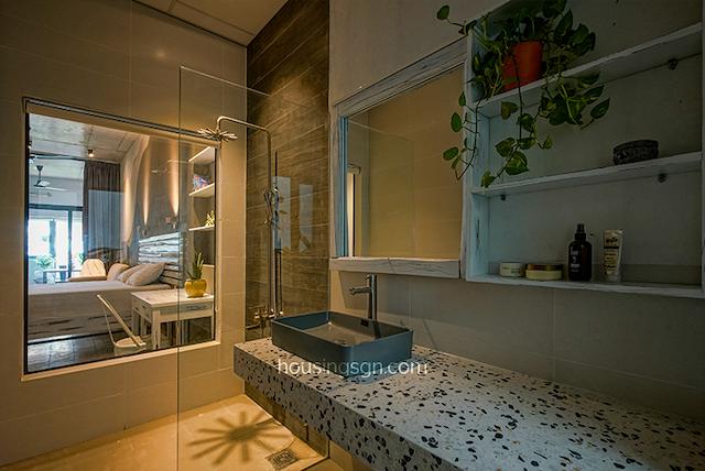 Căn hộ Architect Cosy có phòng tắm được thiết kế hiện đại