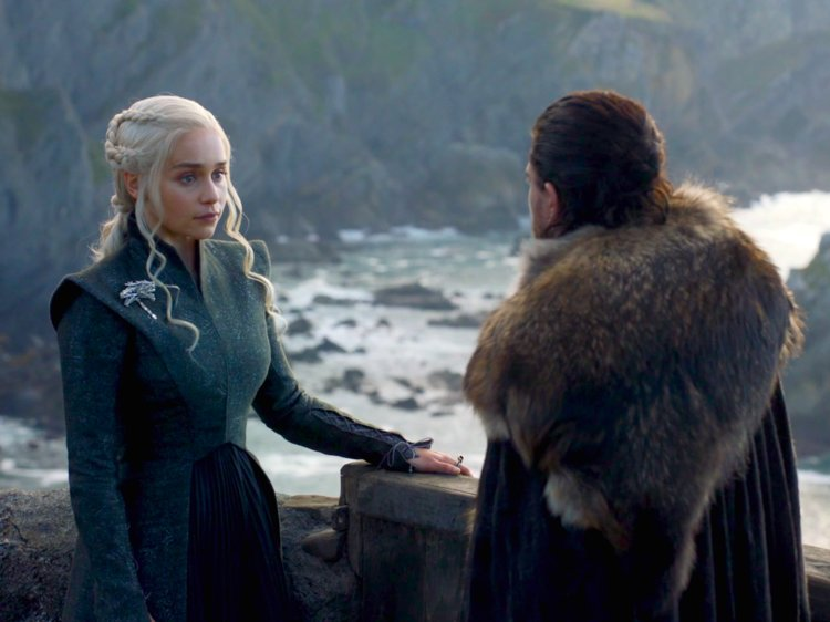 We also got more exposition about Daenerys dragons and how their names relate to important men in her life.
