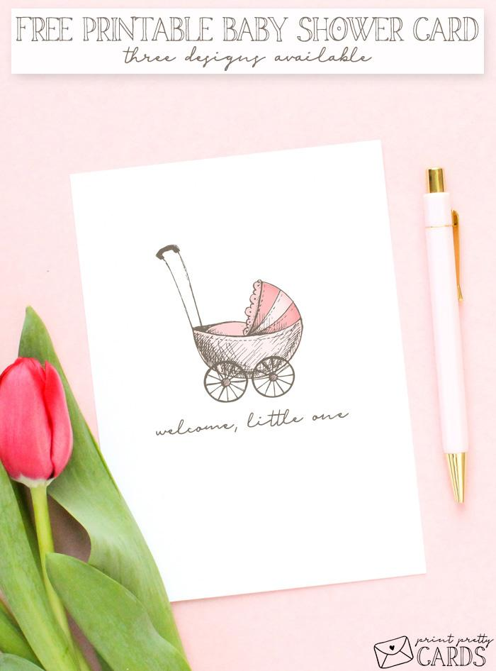 Free Baby Shower Card Printable
