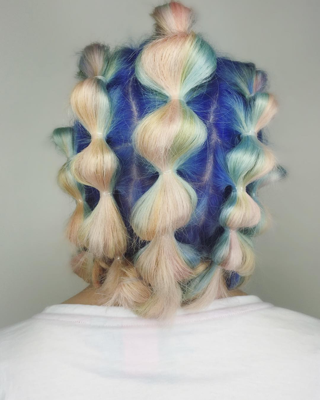 color prom hairstyles