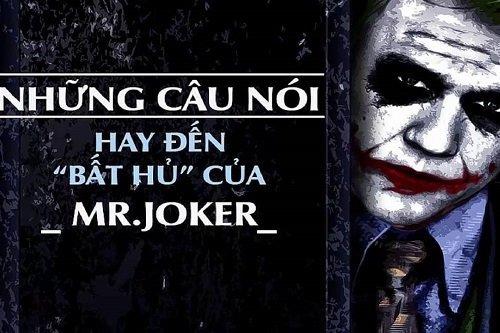 Những câu nói hay của Joker với triết lý thâm sâu-1