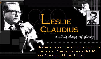 Leslie Claudius Indian hockey