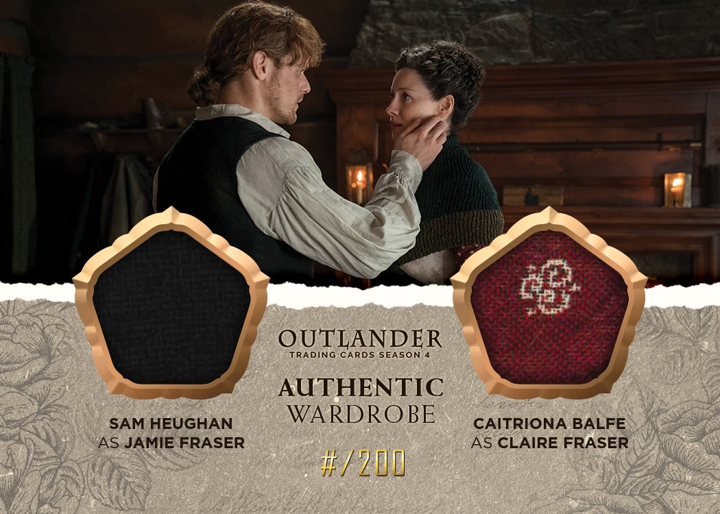 Outlander Trading Cards Season 4: Convention Wardrobe Cards CE1