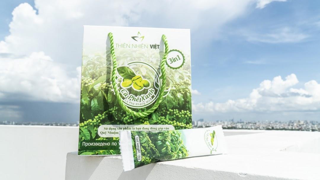 Cà phê xanh thiên nhiên việt là sản phẩm giảm cân đang hot nhất hiện nay