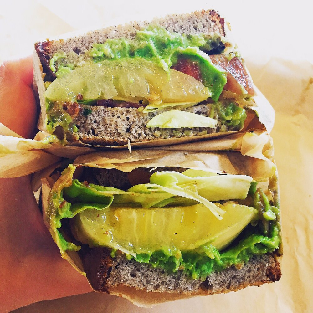 Photo of sandwich from Mendocino Farms in Los Angeles, CA.