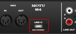 Motu-USB-C