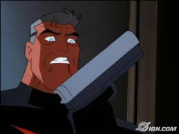Image result for Batman beyond batman grabs a gun
