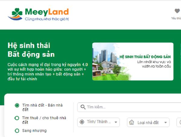 Meeyland là giải pháp chất lượng cho việc mua bán villa biệt thự khách sạn