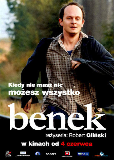 Przód ulotki filmu 'Benek'