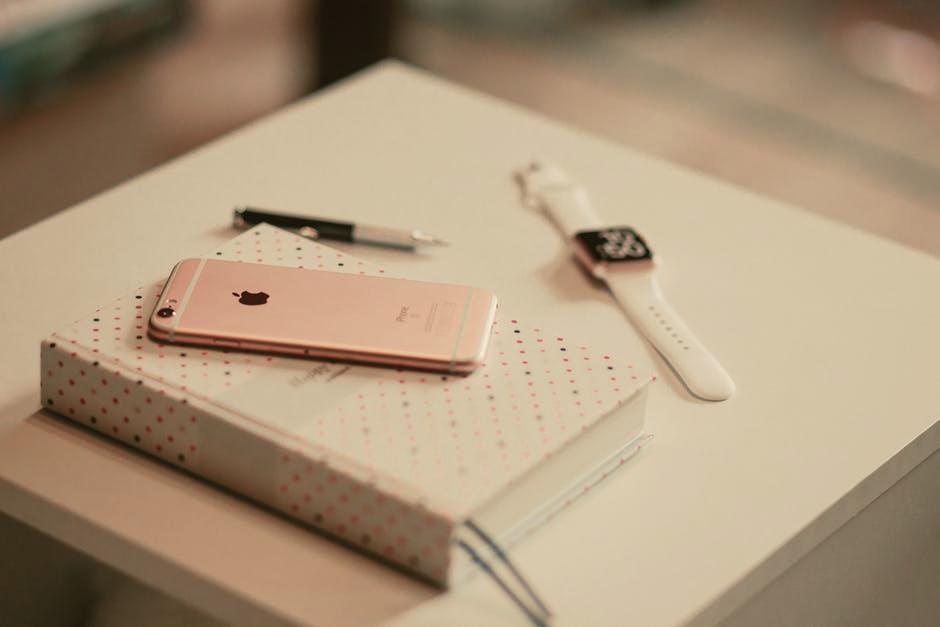 Rose Gold iPhone and Watch