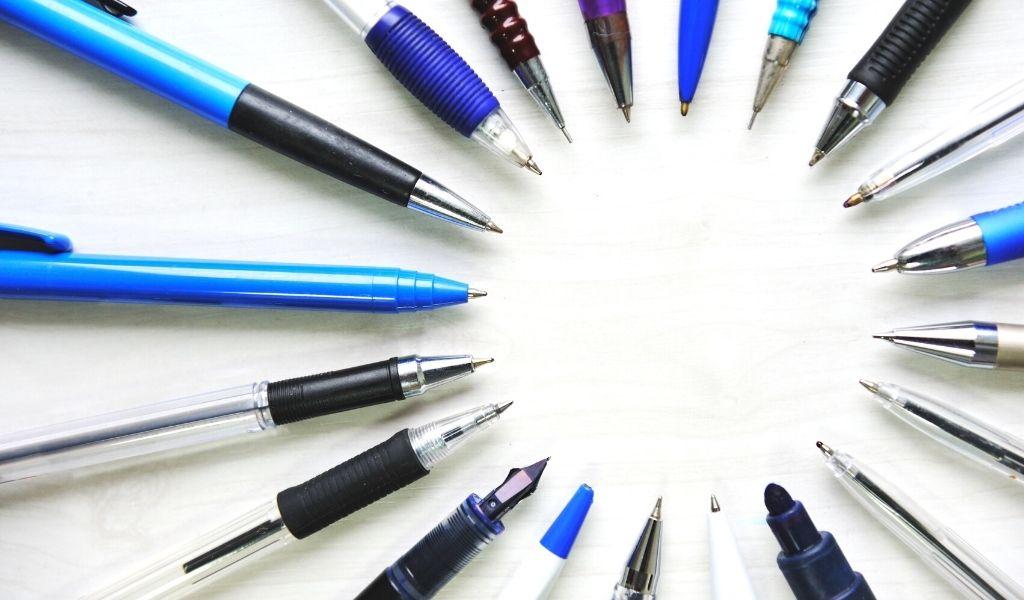 aumento de ventas en boligrafos y lapices de colores - eleventa