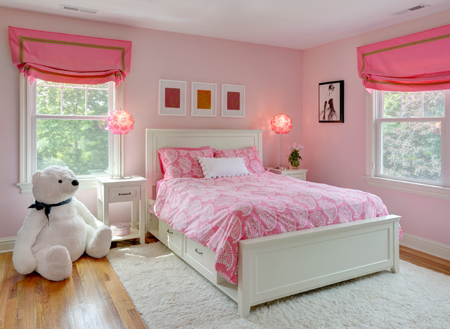 Place A Big Teddy Bear In Your Little Girl's Bedroom