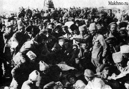 Керівництво РПАУ обговорює умови угоди з радянською владою. Кінець вересня 1920-го