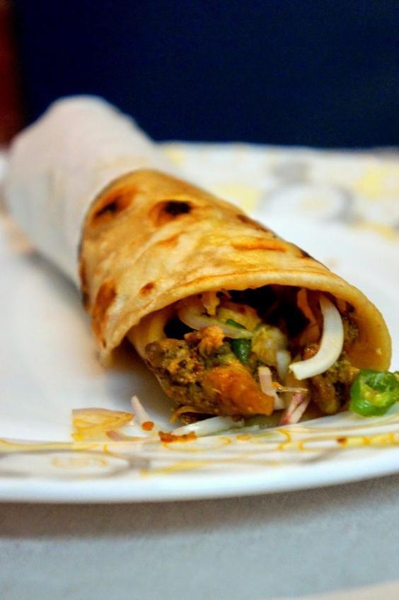 Calcutta style Chicken Rolls Recipe. I had set a record for ...