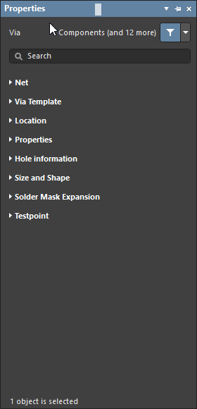Drill Hole Options Dialog