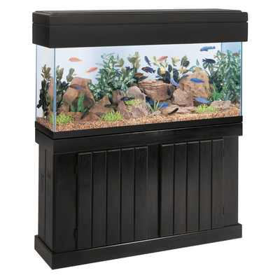 55 gallon tank light and stand elmer 39 s aquarium pet for 55 gallon fish tank stand