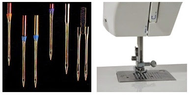 Influence of needle on sewing quality