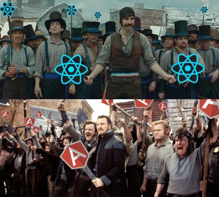 Image result for angularjs vs reactjs