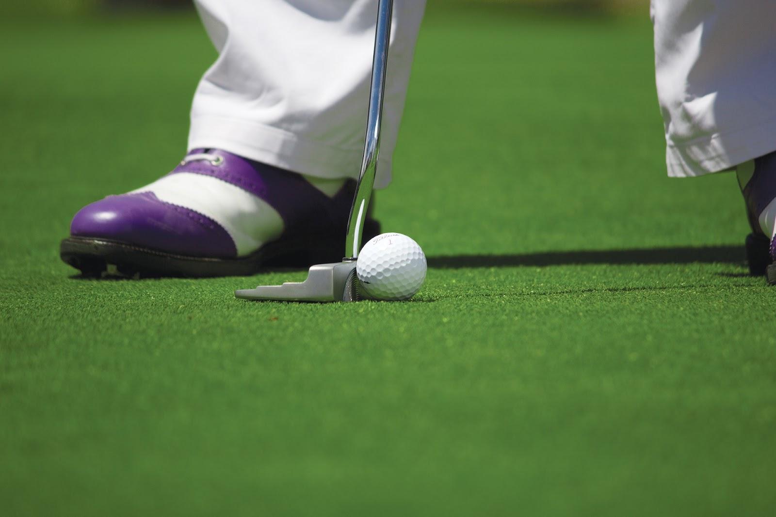 Sau khi bóng ở trên green, bóng phải được đẩy vào lỗ bằng gậy gạt bóng và không được sử dụng gậy khác.