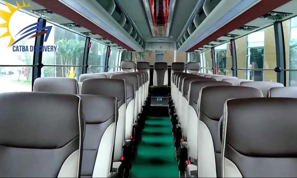 Nội thất xe Discovery Travel đi Ninh Bình từ Hải Phòng