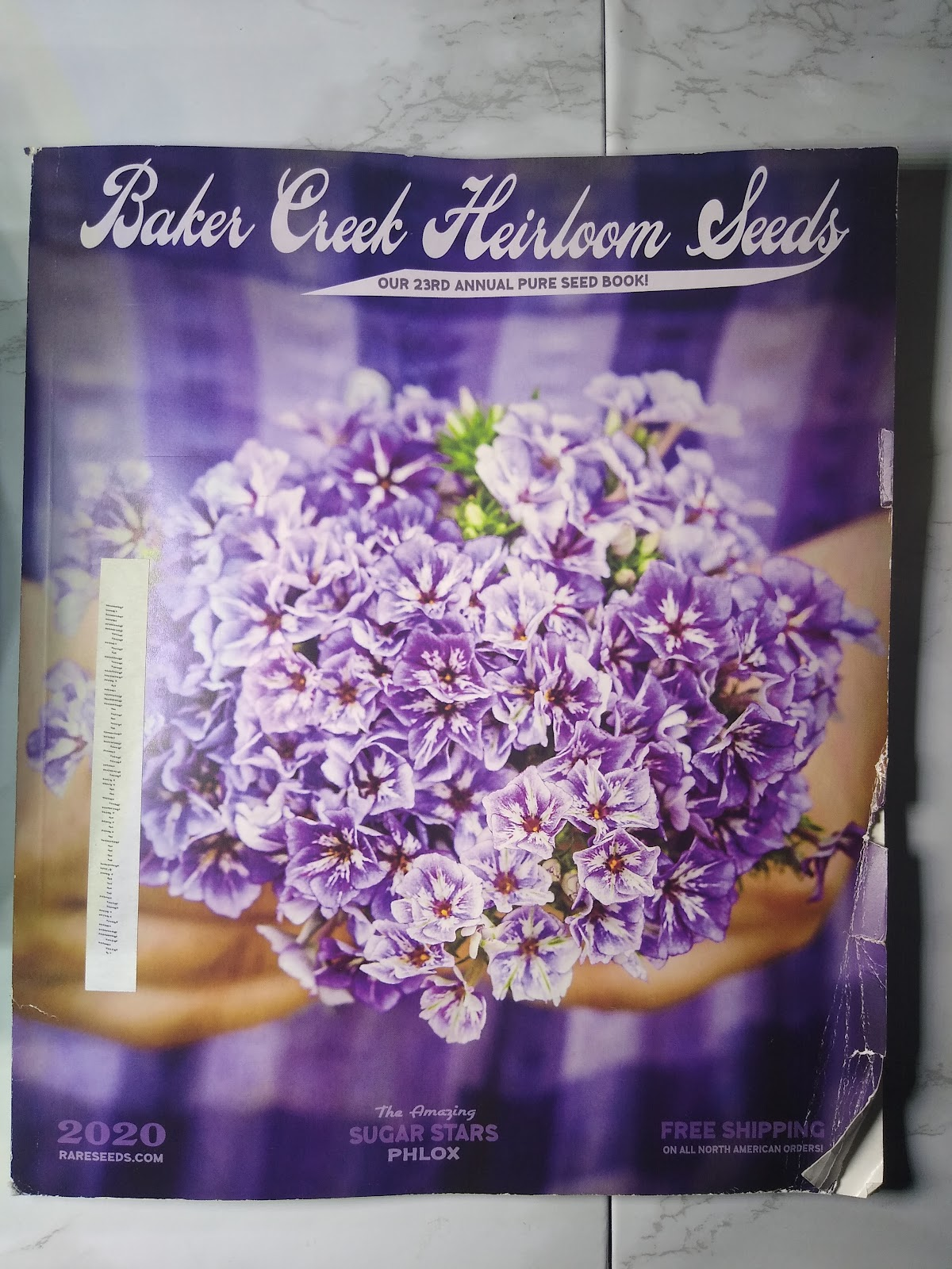 Baker Creek Heirloom Seeds catalog picture