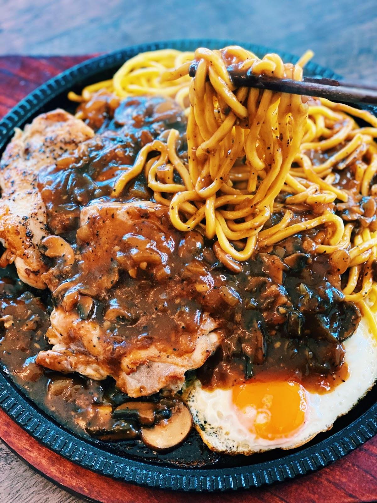Garlic Mushroom Sauce - Taiwanese Nightmarket Style