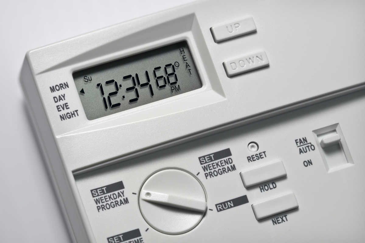 how to change ac thermostat settings