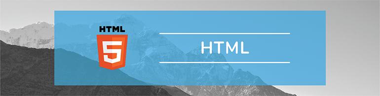 html programming language