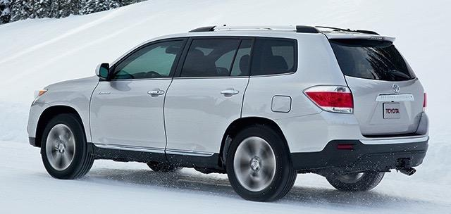 2016 Toyota Highlander - Winter Driving