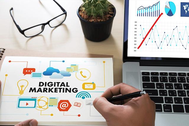 Digital marketing là hình thức quảng bá sản phẩm qua các hình thức truyền thông điện tử