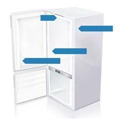 Typeskilt -koeleskabe -reservedele