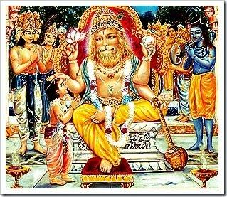 What did Sage Narada preach to Prahlada, when he was still in his mother's  womb, that made him remain a great devotee of Lord Vishnu for life? - Quora